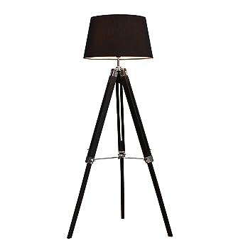 Elegante - Lámpara de pie de diseño Sylt confeccionado con ...