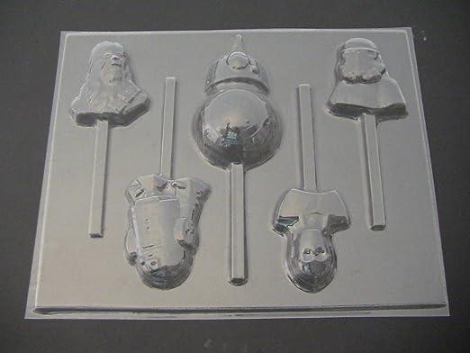 STAR WARS BB8 Chocolate Candy Lollipop Soap Mold