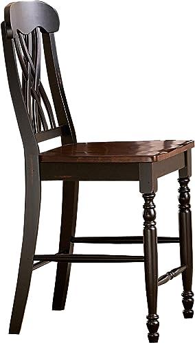 Homelegance Ohana Counter Height Chair Set of 2