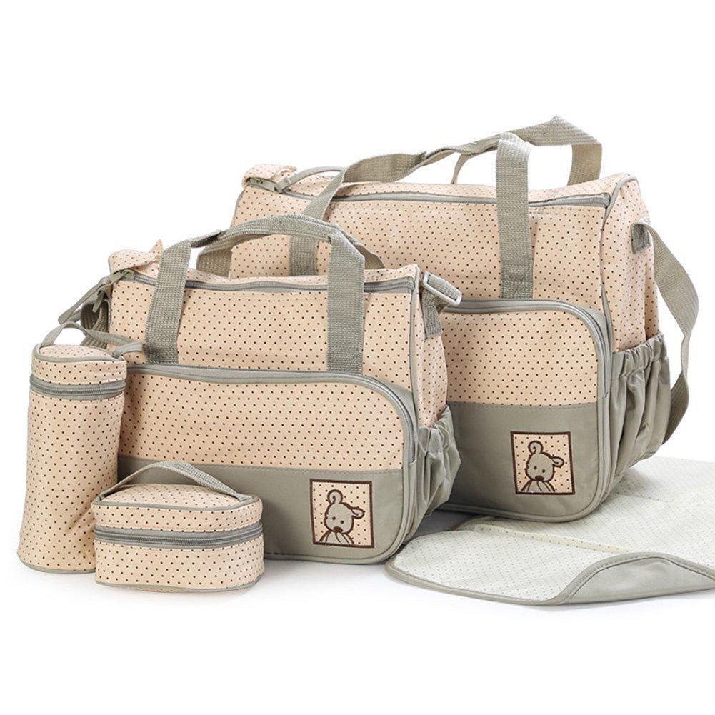 tofern® 5x Baby-Bag Baby Wickeltasche, Set Wickeltasche CTMBB
