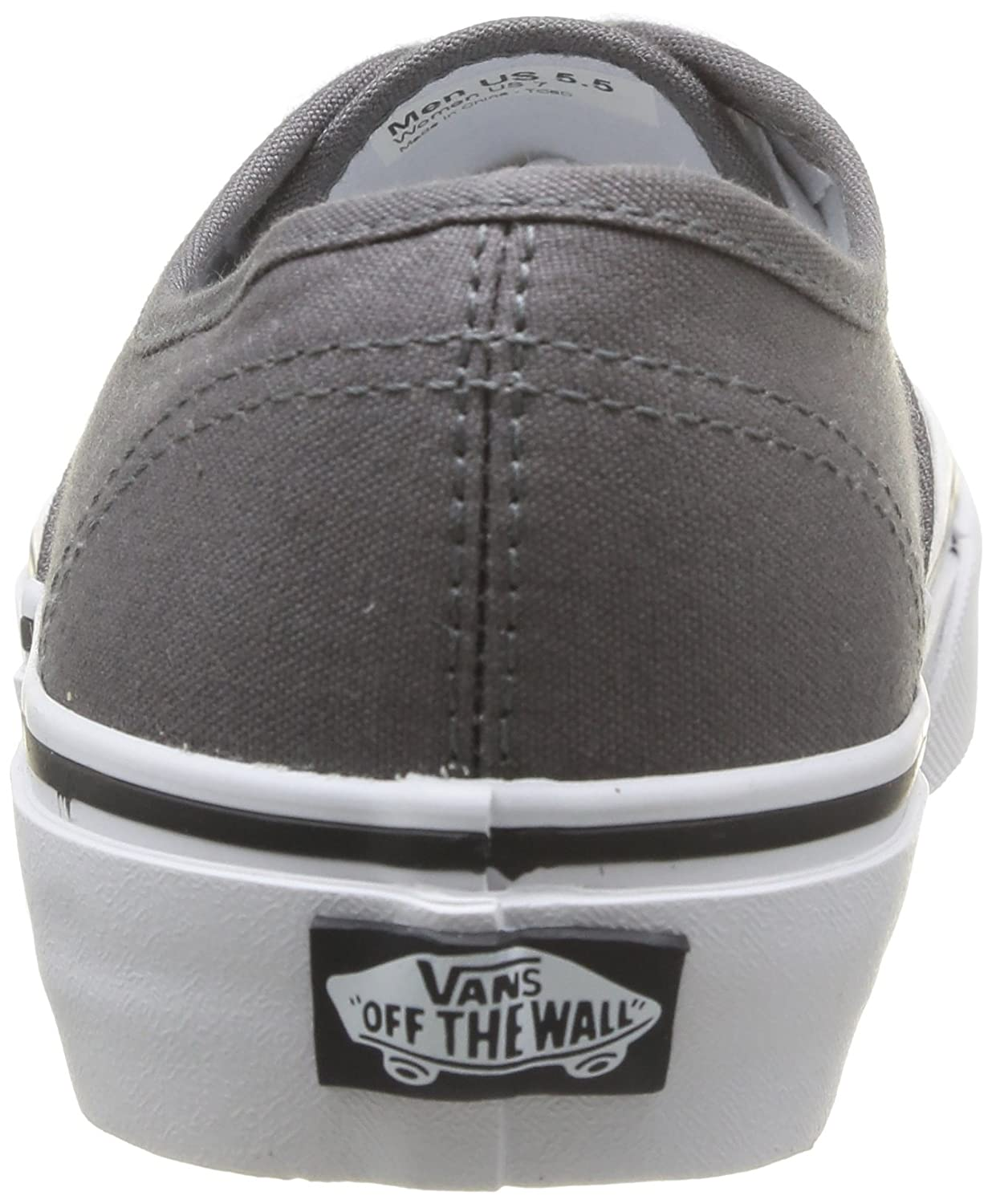 Vans Herren Authentic Core Classic Sneakers B003ADQEXQ 14.5 13 B(M) US Women / 13 14.5 D(M) US Men|Pewter/Black 736a43
