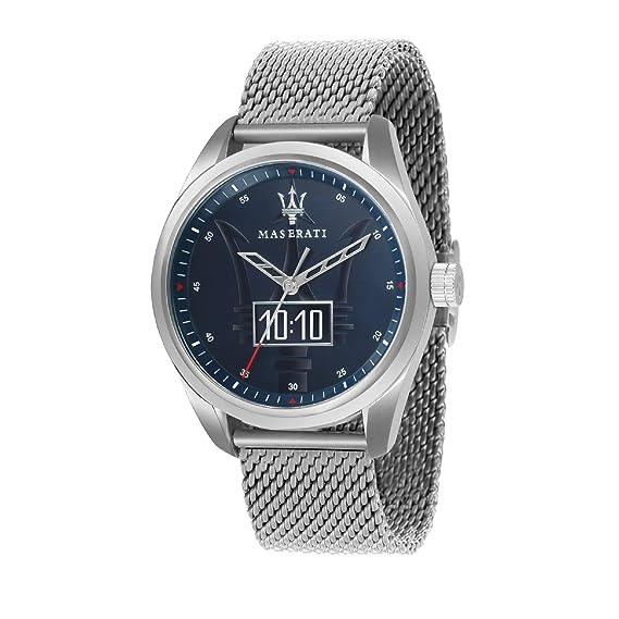 MASERATI Reloj Analógico para Hombre de Cuarzo con Correa en Acero Inoxidable R8853112002: Amazon.es: Relojes