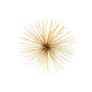 Torre & Tagus Spike Wall Decor, Small, Gold