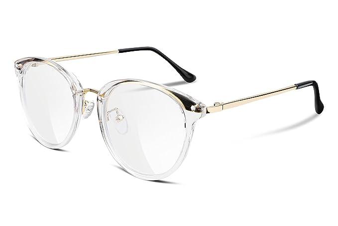 248372a05c4 FEISEDY Vintage Round Women Optical Eyewear Non Prescriptio Glasses ...