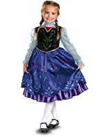 Disney Frozen Anna Deluxe Toddler Costume