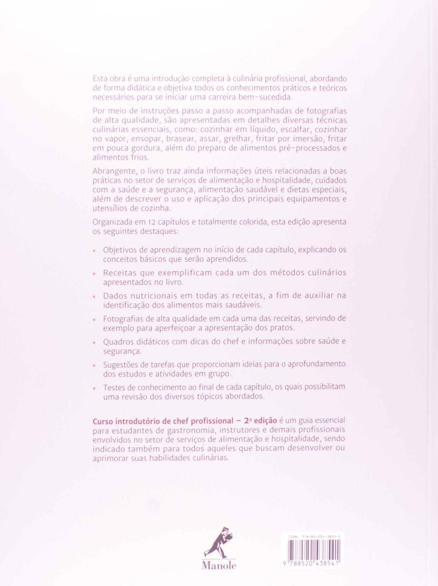 Curso Introdut Rio De Chef Profissional 9788520438541 Livros  ~ Itens Essenciais Para Cozinha