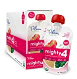 Amazon Price History for:Plum Organics Mighty 4 Essential Nutrition Blend Pouch, Kale, Strawberry, Amaranth and Greek Yogurt, 4 Ounce (Pack of 12)