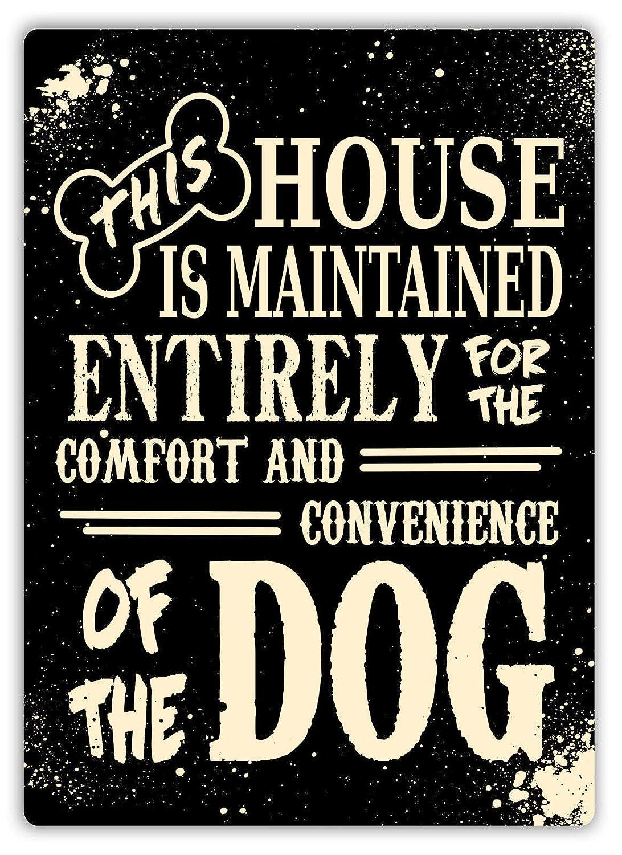 Hasirama Esta casa es para el Perro Carteles de Chapa de ...