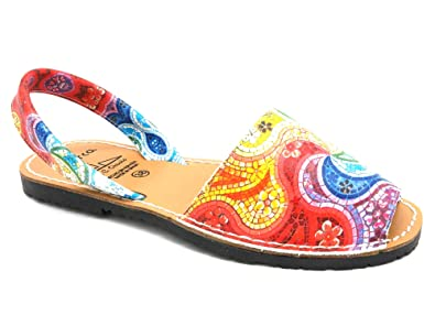 Avarca Made In Spain Damen Leder Sandalen schöne