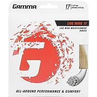 Gamma Sports Live Wire - Cuerda de Raqueta de Tenis con múltiples filamentos para una Potencia excepcional y un Mayor…