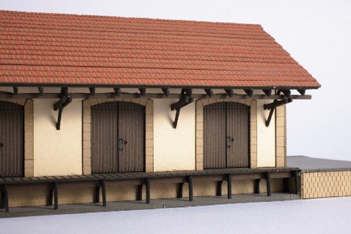 Joswood 19014 - Kit de construcción de cobertizos (158 x 93 x 74 mm, Corte láser, tamaño pequeño): Amazon.es: Juguetes y juegos