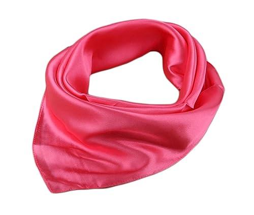 Unisexo Versátil Color Sólido 45% seda Bandana Pañuelo para la cabeza Fulares Bufanda de Cuello (San...