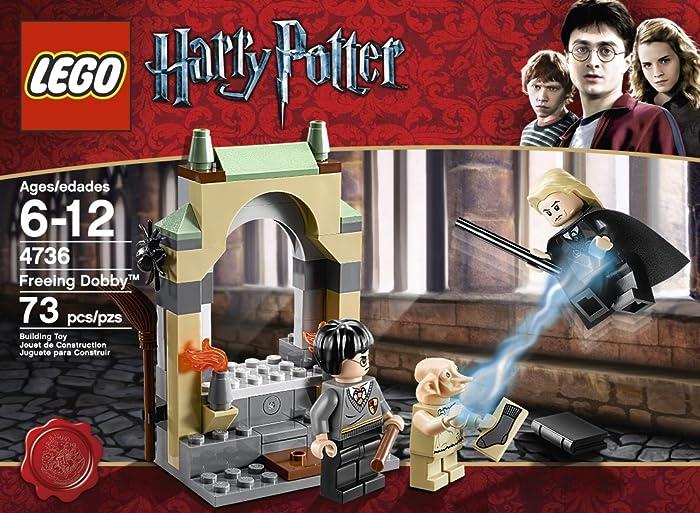 Harry Potter freeing Dobby Lego set