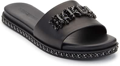 Karl Lagerfeld Paris Women's Slip on Sandal Slide