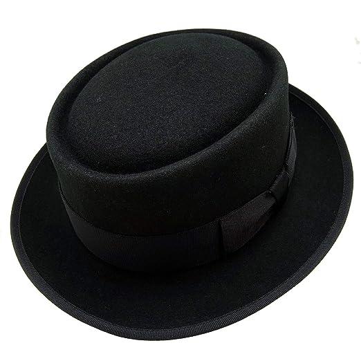 HATsanity Unisex Vintage Wool Felt Pork Pie Hat at Amazon Men s ... 9a7e8a85e1f