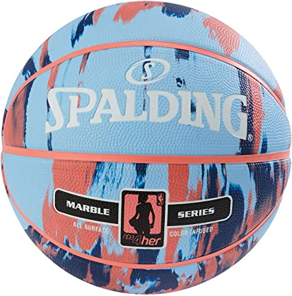 Spalding NBA Marble 4HER out SZ.6 (83-879Z) Basketballs, Juventud ...