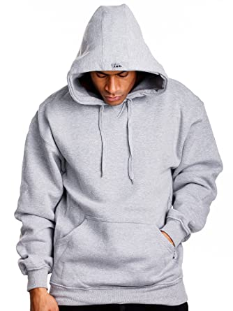 Mens Heavy Weight Fleece Pullover Hoodie at Amazon Men's Clothing ...