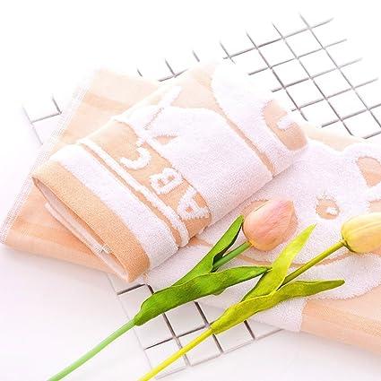 Cartoon toallitas Hotel de lujo Spa toalla de baño, toalla de baño, algodón Manopla