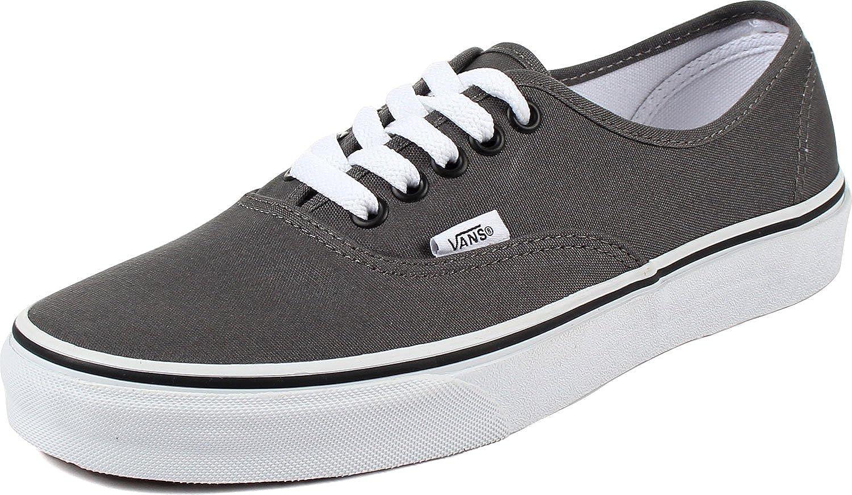 Vans Mens Authentic Core Classic Sneakers (4 D(M) US, Pewter/Black)