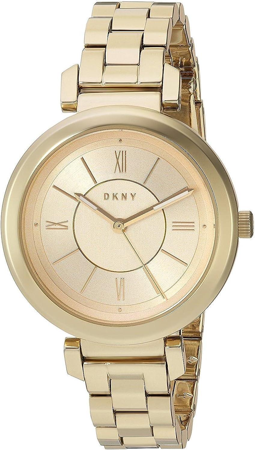 DKNY Reloj Analogico para Mujer de Cuarzo con Correa en Acero Inoxidable NY2583