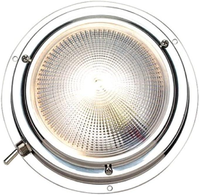 Sea Dog 400353-1 LED Stainless Steel Day Night 12V Dome Light White