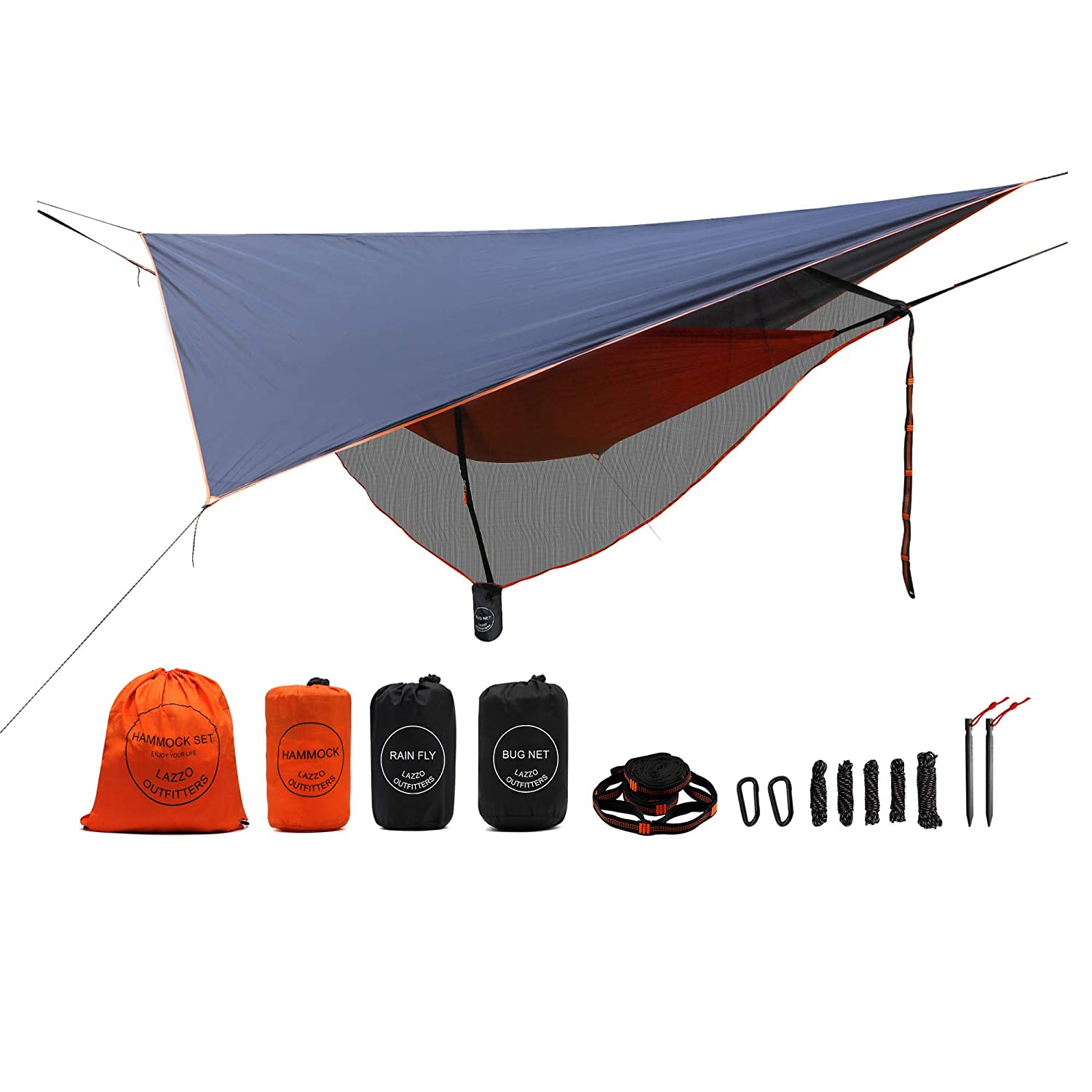 Camping Hammock Set with Single Hammock