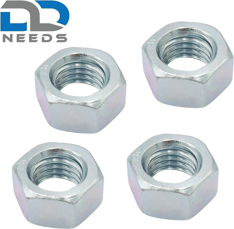 4 unidades, DIN 934, ISO 4032, galvanizada Tuerca hexagonal