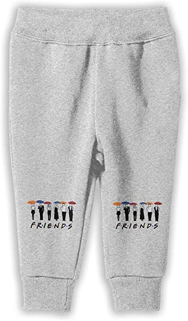 3DmaxTees Friends Umbrella Boy Autumn Winter Long Trousers Casual Baggy Sweatpants