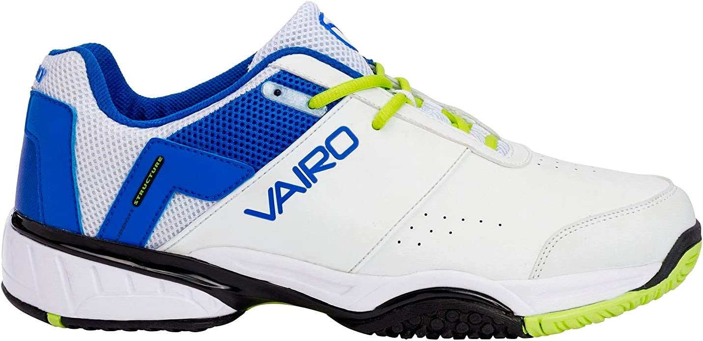 Zapatillas padel Vairo Elite, Blanco, Azul, 45: Amazon.es ...