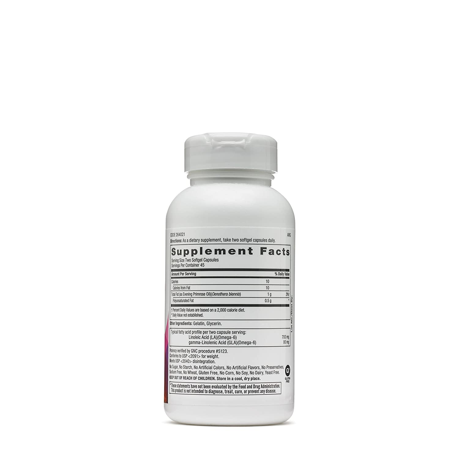 Amazon.com: GNC Primavera (Primrose Oil 500: Health ...