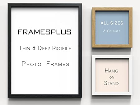 32x24 Black Modern Sleek Photo Picture Poster Frame Thin Deep