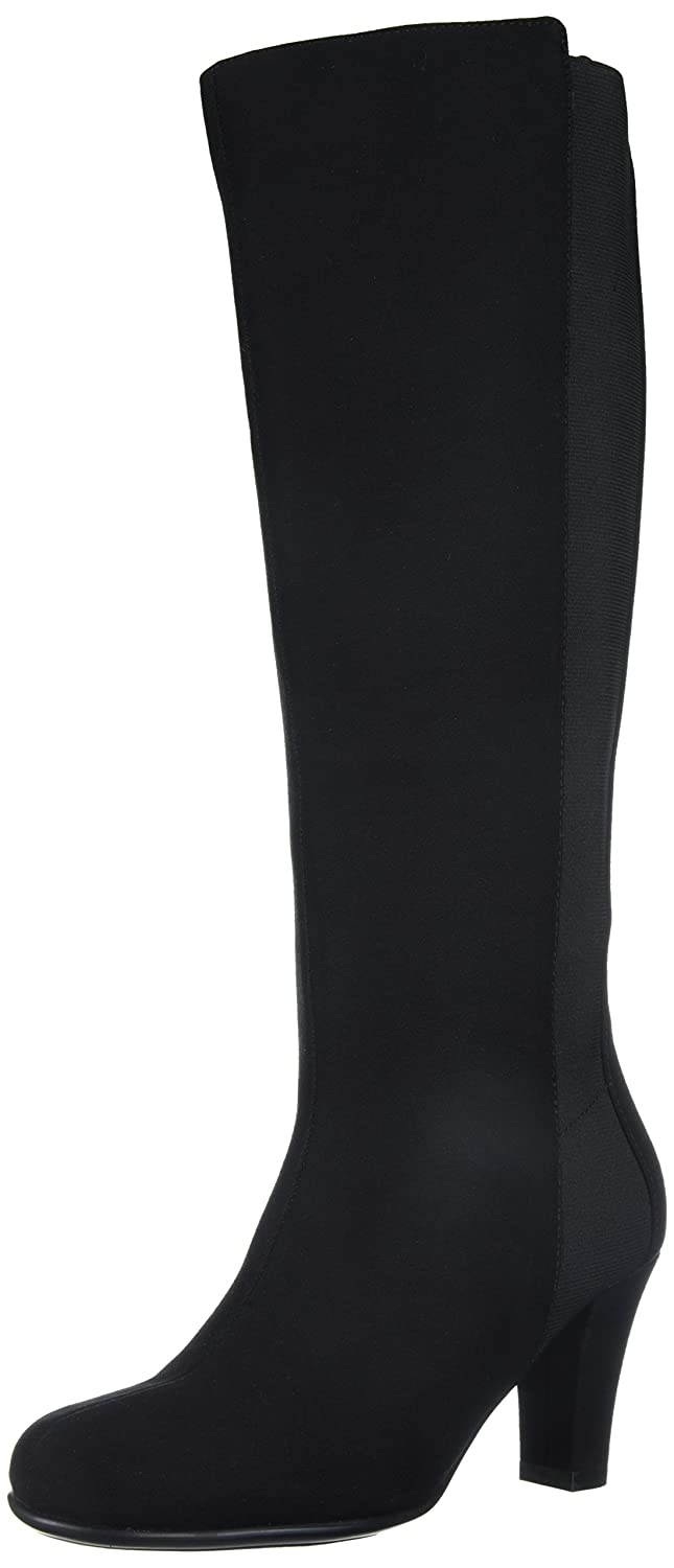Aerosoles Women's Quick Role Knee High Boot B074GF47S2 12 W US|Black Fabric