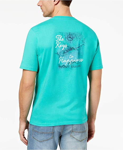 Tommy Bahama Surfin The Net Medium Navy T Shirt