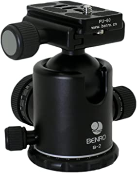 Benro Kugelkopf B 2 Inkl Wechseplatte Pu 60 Kamera
