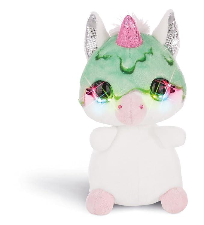 NICI - NICIdoo Ojos mágicos Unicornio Guzz, Peluche 16cm, Color varierdad Colores (42489): Amazon.es: Juguetes y juegos