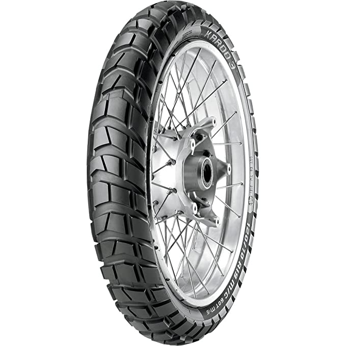 Metzeler 110//80-19 M//C 59T TL M+S KAROO 3 On /& Off-Road Front Tyre