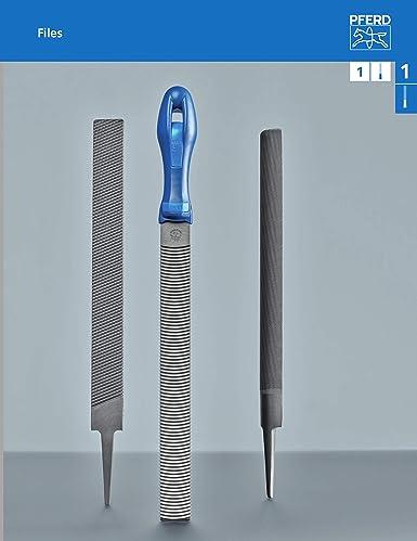 Rectangular Swiss Pattern 5//16 Width PFERD Slim Pillar File 1//8 Thickness #00 Coarseness 6 Length Double Cut