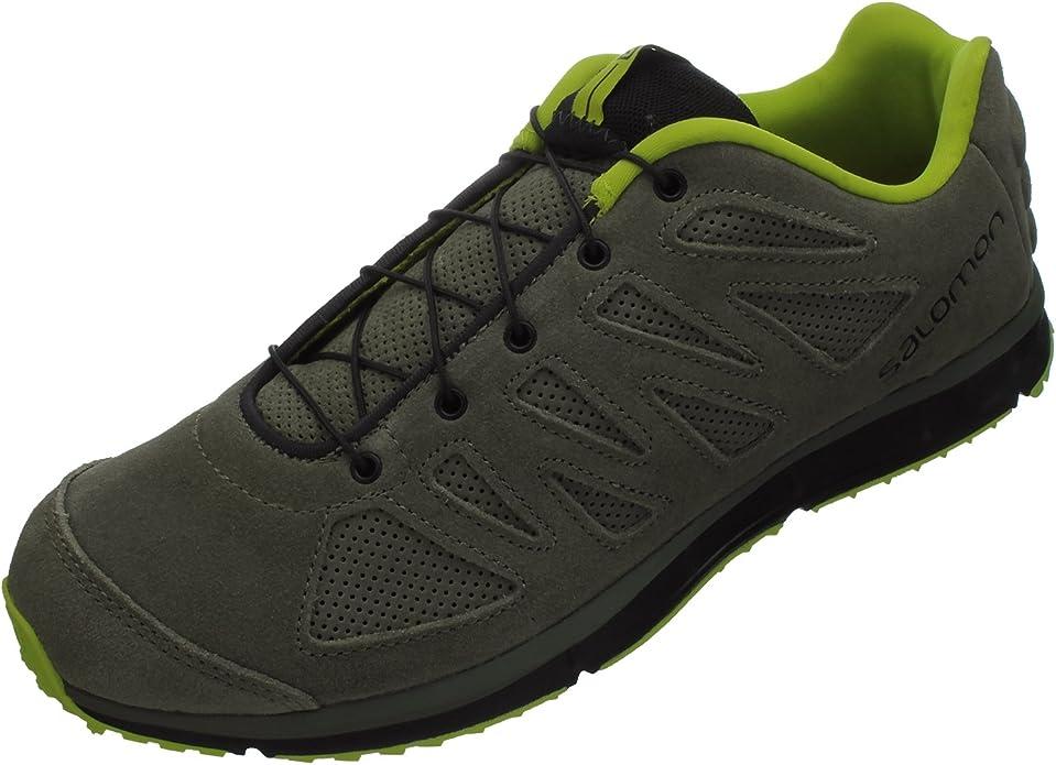 Salomon Kalalau Piel para Hombre Trail Zapatillas de Running, Color Multicolor, Talla 39: Amazon.es: Zapatos y complementos