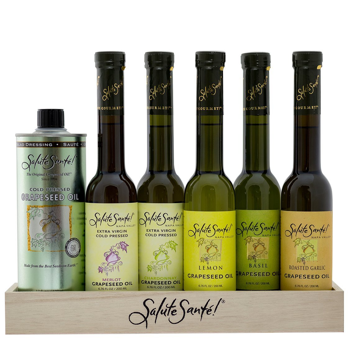 Salute Santé! Grapeseed Oil Pantry by Salute Sante!