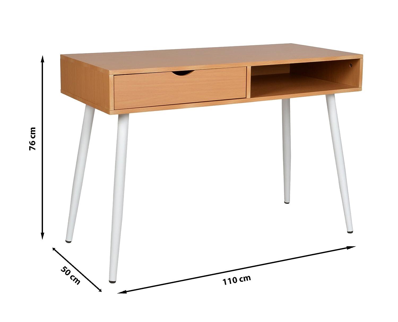 Ts ideen bureau console ordinateur table dappoint secrétaire