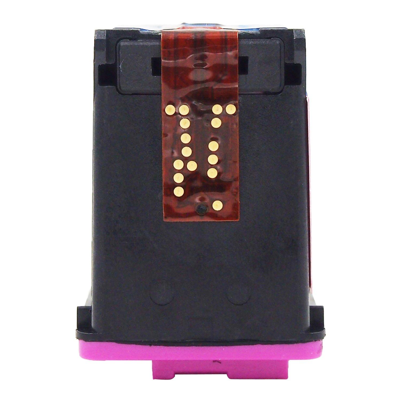 ONLYU 2-Pack Compatible HP 302XL 302 XL Cartucho de tinta para HP Envy 4520 4521 4522 4523 4524 4525 4527 4528 OfficeJet 3830 3831 3832 3833 3834 3835 ...