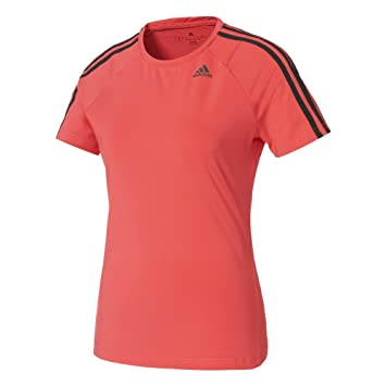 adidas D2m Tee 3s Camiseta de Manga Corta, Mujer, Rosa (Rosbas), L: Amazon.es: Deportes y aire libre