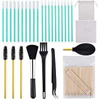 ADXCO 129 Pieces Cell Phone Cleaning Kit Camera Cleaning Kits USB Charging Port and Headphone Port Brush Set Compatible…