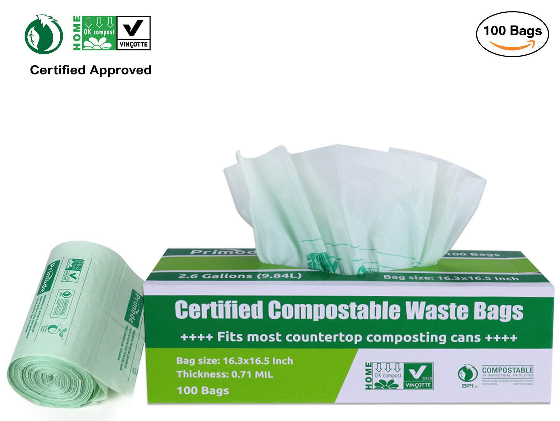 Best Rated in Disposable Compost Bags & Helpful Customer Reviews ...