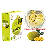Crispy freeze dried fruit Jackfruit Healthy Snack 100% all Natural Oil-Free 1 Box...