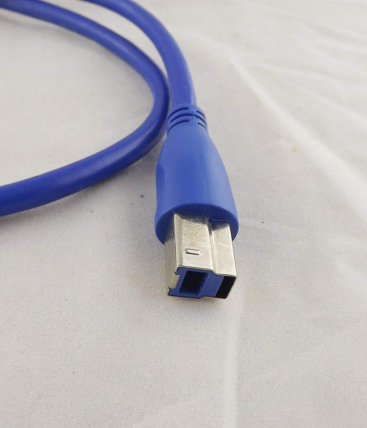 Connector and Terminal /1x USB 3.0 Type A Male Plug to B Male Printer Scanner Data Wire Cord Cable 1.5ft
