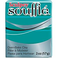 Polyform SU6-6505 Sculpey Souffle Clay, 2-Ounce, Sea Glass, 48 g