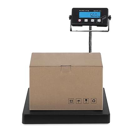 Steinberg Systems Báscula para Paquetería Balanza Digital para Paquetes SBS-PT-75C (75 kg / 10 g, Superficie de pesaje 40 x 40 cm, Pantalla LCD): Amazon.es: ...