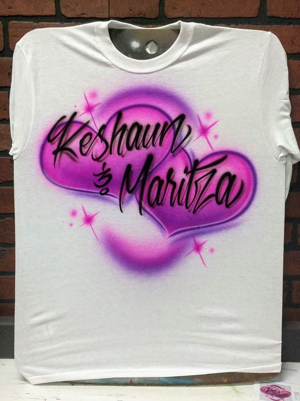 Amazon Personalized Airbrush T Shirt Sweatshirt Or Hoodie