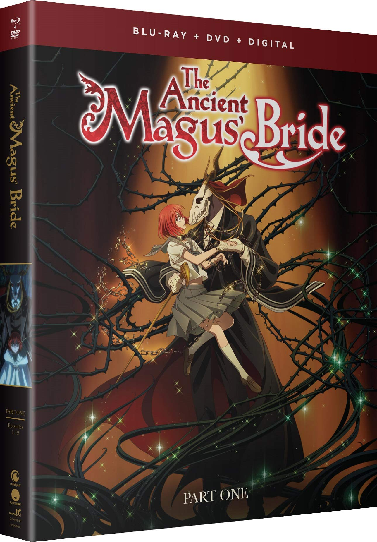 Blu-ray : The Ancient Magus Bride: The Complete Series - Part One (With DVD, Boxed Set, Digital Copy, Subtitled)